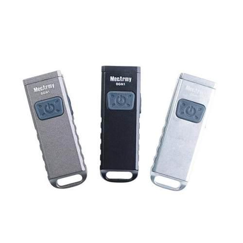 Mecarmy SGN1 Mini USB Rechargeable Keychain EDC Flashlight