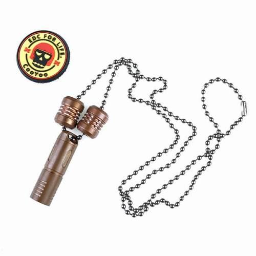 Mecarmy CH0 Titanium Beaded Chain
