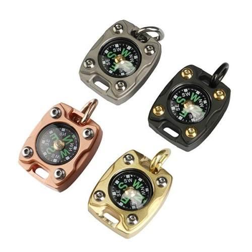Mecarmy CMP-2T/2B/2C Titanium/Brass/Copper EDC Compass