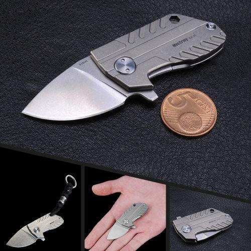 Mecarmy EK35 Titanium Mini Folding Knife