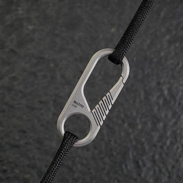 Mecarmy CH6 Mini Titanium Carabiner Keyring