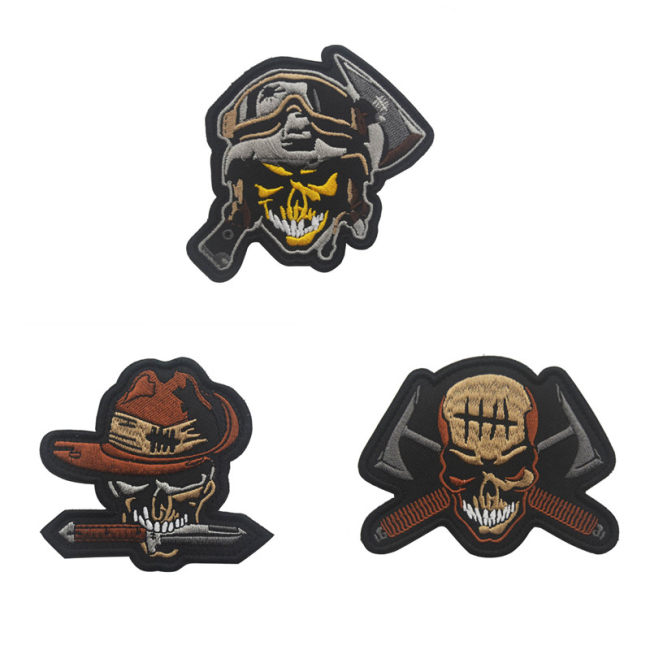 Creative Tactical Military Embroidered Badge DIY Morale Patches