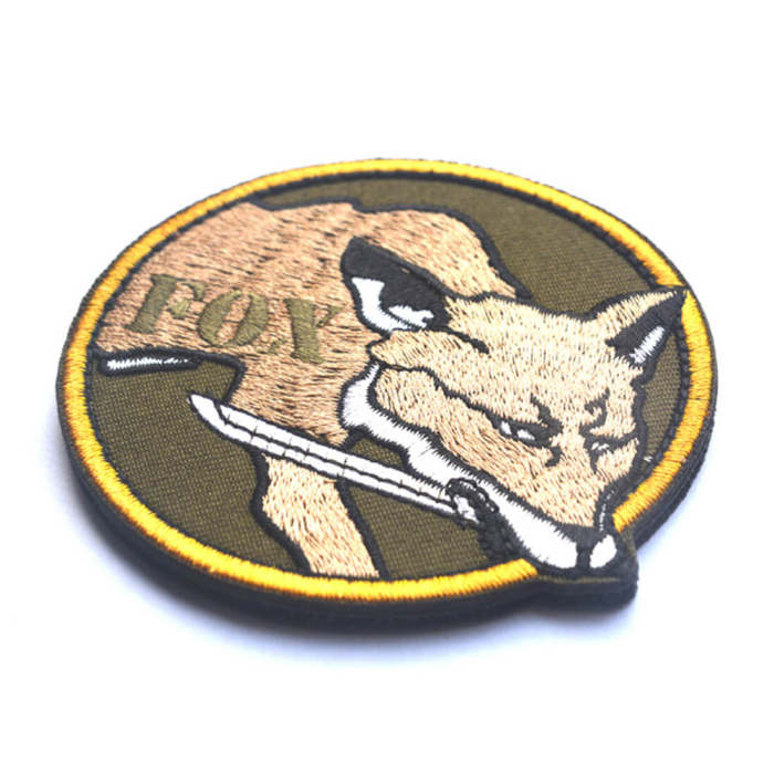 MILITAIRES 8cm Tactical Military Embroidered Badge DIY Morale Patches