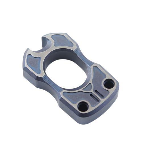 DICORIA Titanium Alloy EDC Self-defense Knuckle Single Finger Corkscrew