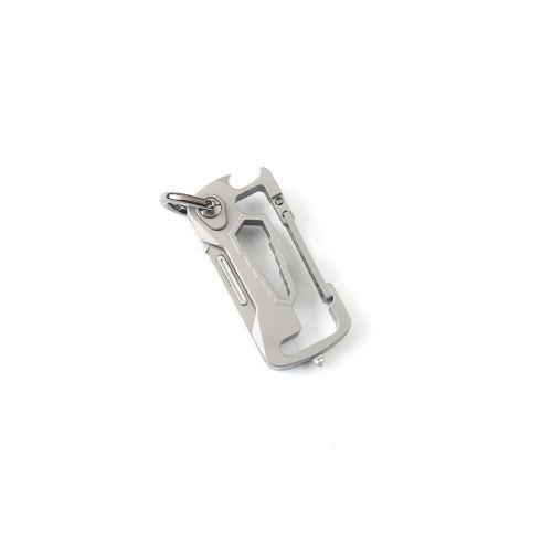 DICORIA Multi-function EDC Keychain Titanium Alloy Corkscrew Self-defense Mini Folding Knife