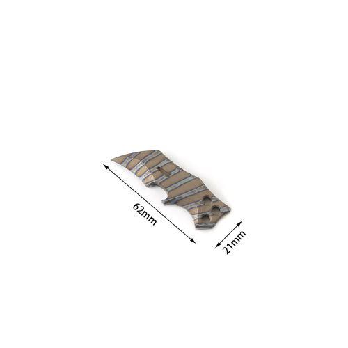 DICORIA Titanium Alloy Mini Multi-function EDC Bottle Opener Outdoor Corkscrew Unboxing Tool