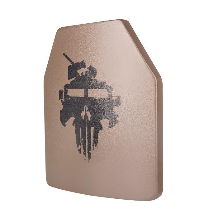 UTA 2Pcs Universal NIJ III PE Tactical Bulletproof Plates Military Police Shooting Protector