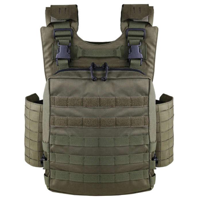 UTA  X-Merlin Plate Carrier Tactical Loadout Gear with Flatpack
