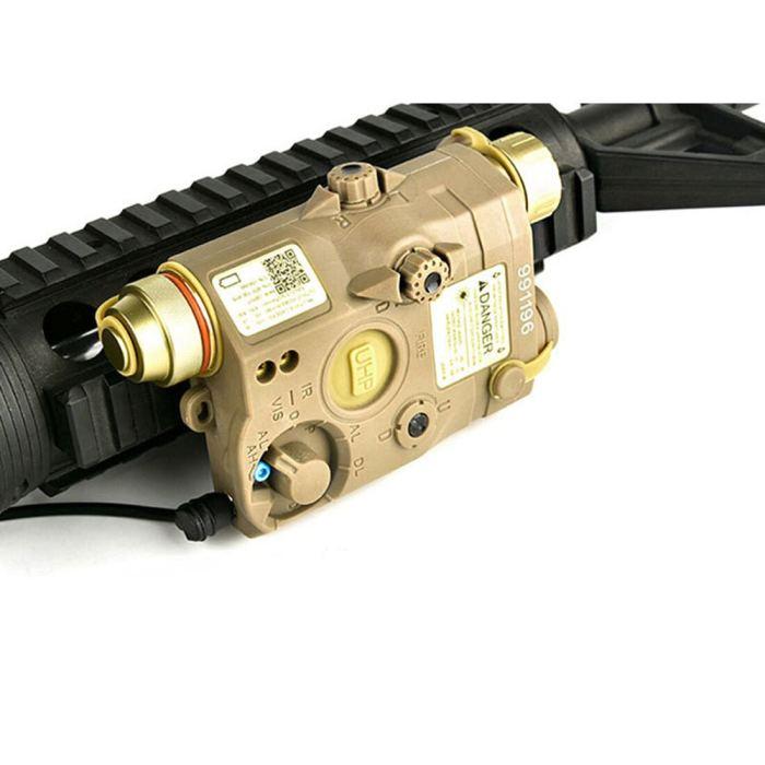 Workerkit PEQ-15 Full-featured Tactical Green Laser Battery Box