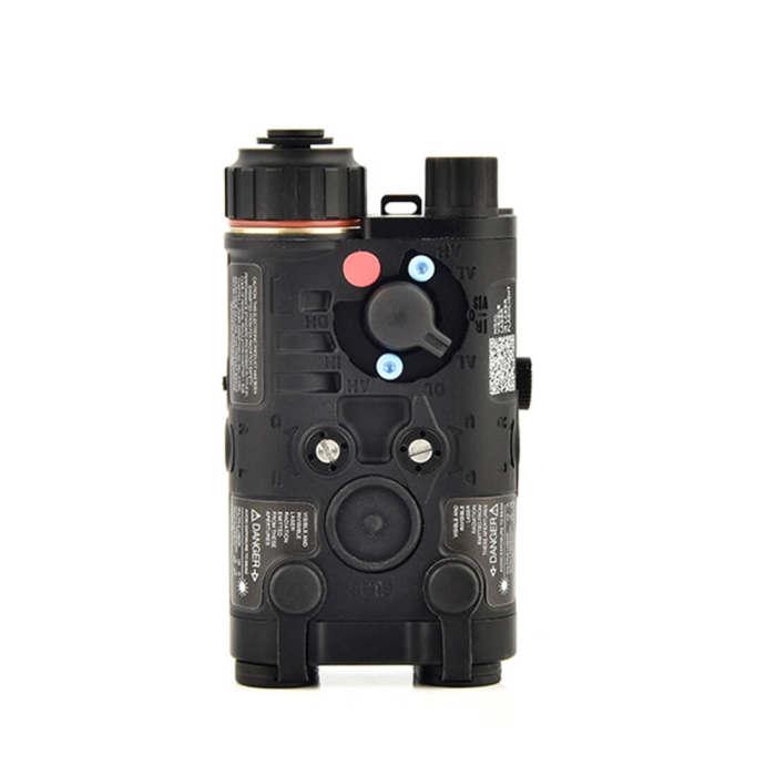 Workerkit All Metal L-3 NGAL Tactical Red Laser Outdoor Shooting IR Indicator LED Strong Light Flashlight