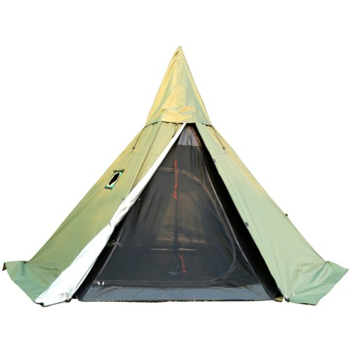 Camping Hot Tent With A Full Mesh Inner Tent