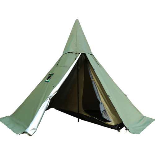 Camping Hot Tent With A Half Inner Tent