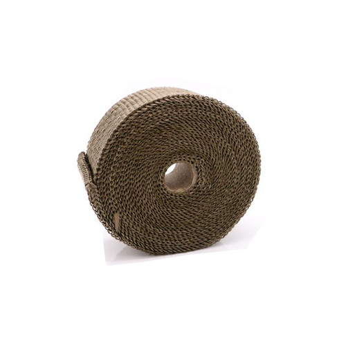 Fireproof Pipe Wrap Flue Ribbon For Hot Tent Stovepipe Khaki 16 ft