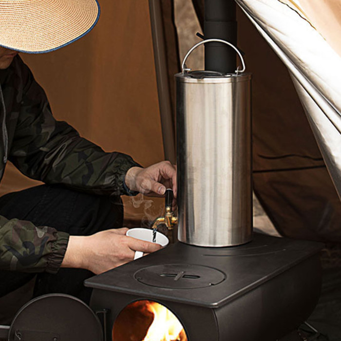 Water-Burning Tank Stainless Steel Water Pot With Tap Switch