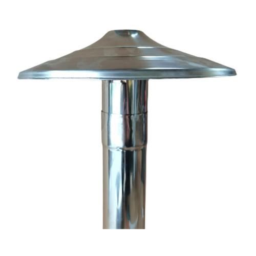 Stove Chimney Cowl Stainless Steel Waterproof Top Cap