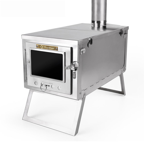 Titanium Wood Stove For Bushcraft Camping Cooking And Heating Thous Winds