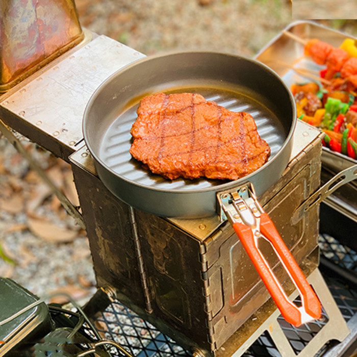 Folding Cooking Stove Portable BBQ Grill For Camping Outdoor