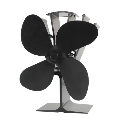 Heat Powered Stove Fan for Wood Burning Tent Stove Fireplace