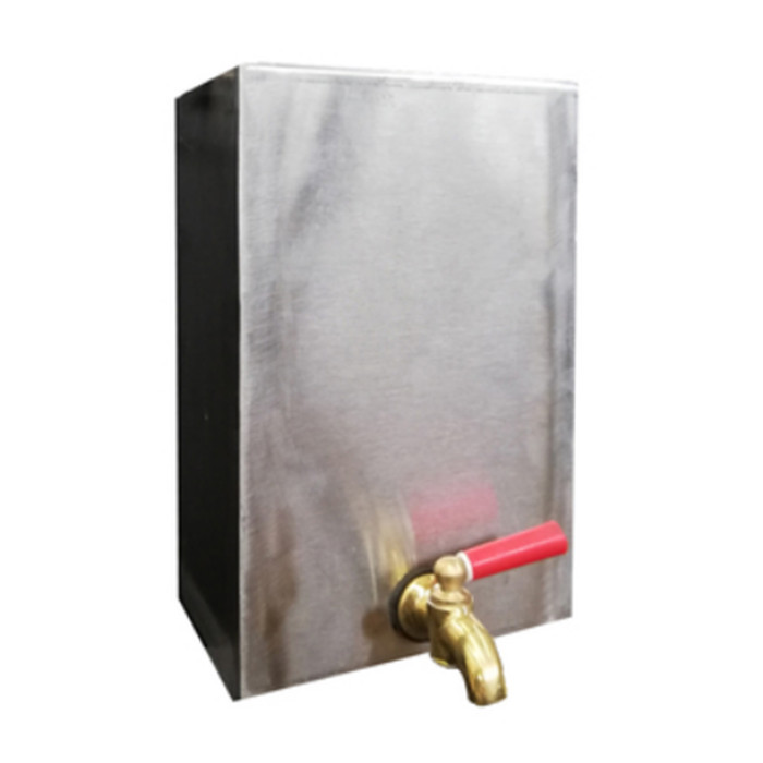 Water-Burning Tank For Camping Wood Stove With Water Tap Switch