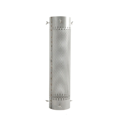 Ajustable Net Chimney Stovepipe Anti Scalding Protector 304 Stainless Steel