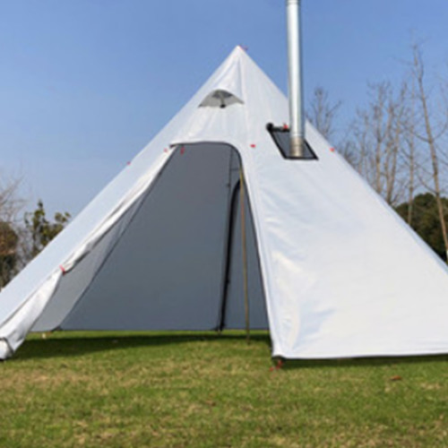 Tipi Tent With Stove Jack For Lightweight Hot Tenting