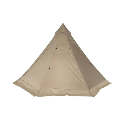 Camping Cotton Canvas Teepee For 3-4 Person Outdoor Adventure