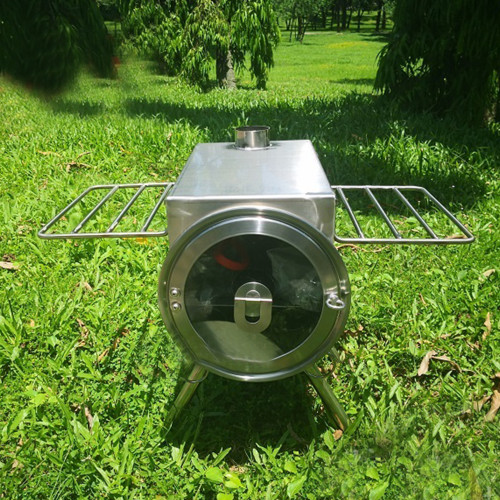 Camping Wood Burning Stove Car Camping Portable Tent Stove For BBQ And Heating