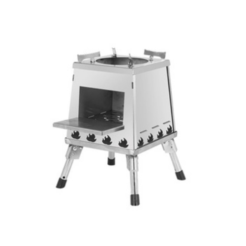 Outdoor BBQ Wood Stove For Car Camping Detachable and Portable