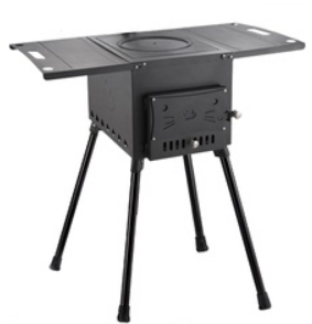 High Wood Stove Camping Tent Stove With Long Legs