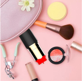 Sucking Magnetic Charging Waterproof Quiet Mini Lipstick Shape 10 Speeds Mode Pleasure Vǐbrǎtǒr Multi-Functional Massage Safer and More Convenient Massager