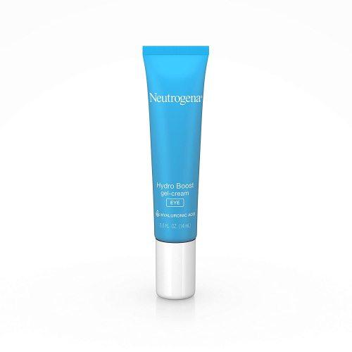 Neutrogena Hydro Boost Hydrating Gel Eye Cream with Hyaluronic Acid, Dermatologist Recommended Water Gel Under-Eye Cream, Oil-, Dye- & Fragrance Free, 0.5 fl. oz