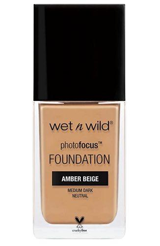 wet n wild Photo Focus Foundation, Amber Beige, 1 Ounce