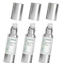 Organys Eye Cream For Dark Circles, Under Eye Bags & Fine Lines. Reduces The Look of Puffiness, Wrinkles, Crow's Feet Tired Puffy Eyes. Natural Day & Night Repair Serum (3-PACK) (3-PACK (0.5 oz each))
