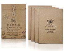 ORGAID Organic Sheet Mask 4-packs (Anti-aging & Moisturizing)