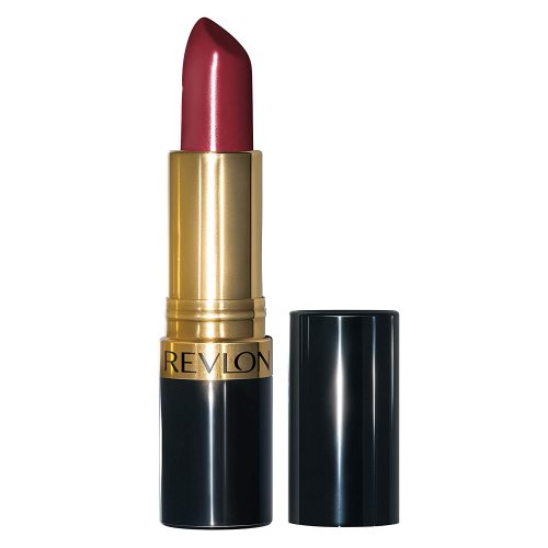 Revlon Super Lustrous Lipstick with Vitamin E and Avocado Oil, Cream Lipstick in Burgundy, 777 Vampire Love