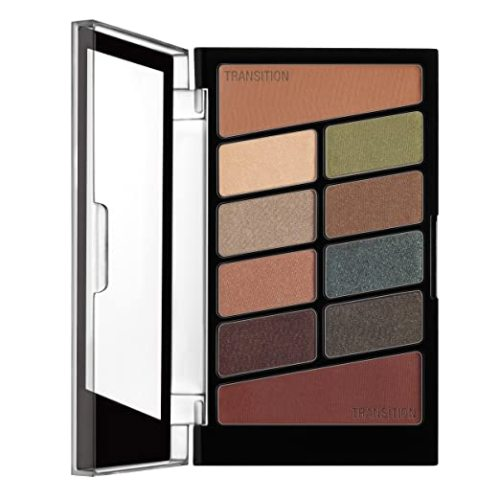 wet n wild Color Icon Eyeshadow 10 Pan Palette, Nude Awakening