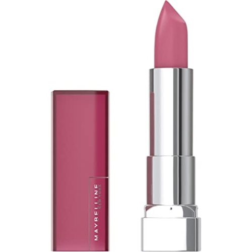 Maybelline Color Sensational Lipstick, Lip Makeup, Matte Finish, Hydrating Lipstick, Nude, Pink, Red, Plum Lip Color, Touch Of Spice, 0.15 oz. (Packaging May Vary)