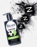 Bioré Deep Pore Charcoal Daily Face Wash, 6.77 Ounce, with Deep Pore Cleansing for Dirt and Makeup Removal From Oily Skin, Biore Charcoal