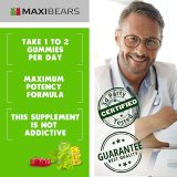 MAXIBEARS Hemp Gummies 1,000,000 - Promotes Relaxation & Healthy Sleep - Stress, Insomnia & Anxiety Relief - Made in USA - Tasty Herbal Gummies - Premium Extract - Mood & Immune Support