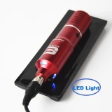 One Professional Quiet Motor Permanent Makeup Rotary Tattoo Machine Pen With Free RCA Cord Supply
