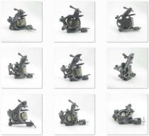 One 8 Wrap Coils General Beginner Tattoo Machine Gun For Kit Power Set Tattoo Tools Supply
