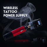 2020 New Arrival Rechargable Mini Wireless Tattoo Power RCA Connector For Permanent Makeup Tattoo Machine Pen Battery Supply