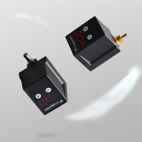 New Rechargable Mini Wireless Tattoo Power RCA/DC Connector For Tattoo Machine Pen Supply