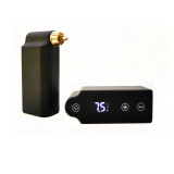 One DC/RCA Wireless Mini Tattoo Power Supply With LED Display Screen For Tattoo Machine Pen Battery Pack Supply