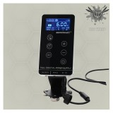 One Premium Quality HUMMINGBIRD BRONC 3A Tattoo Machine Pen Power Supply With Touch Screen Digital LCD Display
