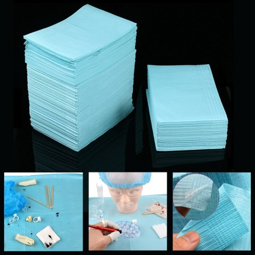 125PCS 45*33cm Disposable Waterproof Water Tattoo Tablecloth Mat For Eyeybrow Tattoo Accessories Medcial Supply