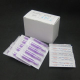 Box Of 50PCS Purple Disposable Tattoo Sterile Tips Nozzles For Permanent Makeup Tattoo Tools Supply