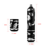 One Camouflage Style Rotary Cartridge Tattoo Pen With Free RCA Cord Supply