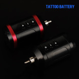 New Rechargable Mini Wireless 1650mAh Tattoo Power RCA/DC Connector For Permanent Makeup Tattoo Machine Pen Battery Supply
