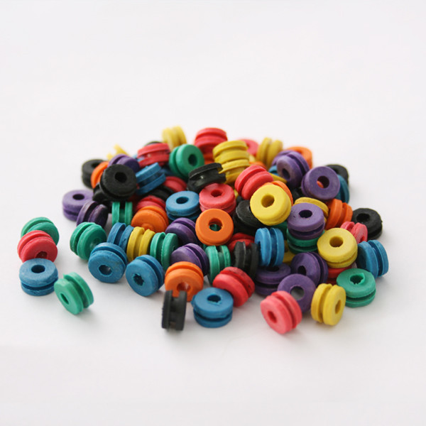 100PCS Soft Multicolor H Type Tattoo Grommets For Tattoo Needle Machine Gun Spart Parts Accessories Supply